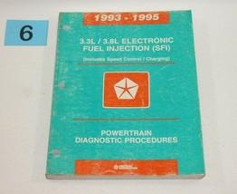 1993 1995 Chrysler Dodge 3.3L  3.8L Electronic Fuel Injection SFI Manual 6 - $12.82