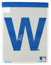 BRANDON HYDE Signed Chicago Cubs 11x15 'W' Flag - SCHWARTZ - $39.13