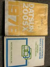 1978 Datsun Nissan 200SX Service Réparation Atelier Manuel Usine OEM Set - $24.24
