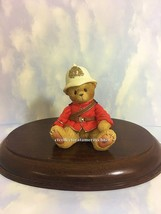Cherished Teddies Inspector Yukon 2001 Canadian Exclusive  NIB - $33.20