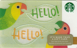 Starbucks 2014 Hello! Collectible Gift Card New No Value - $4.99
