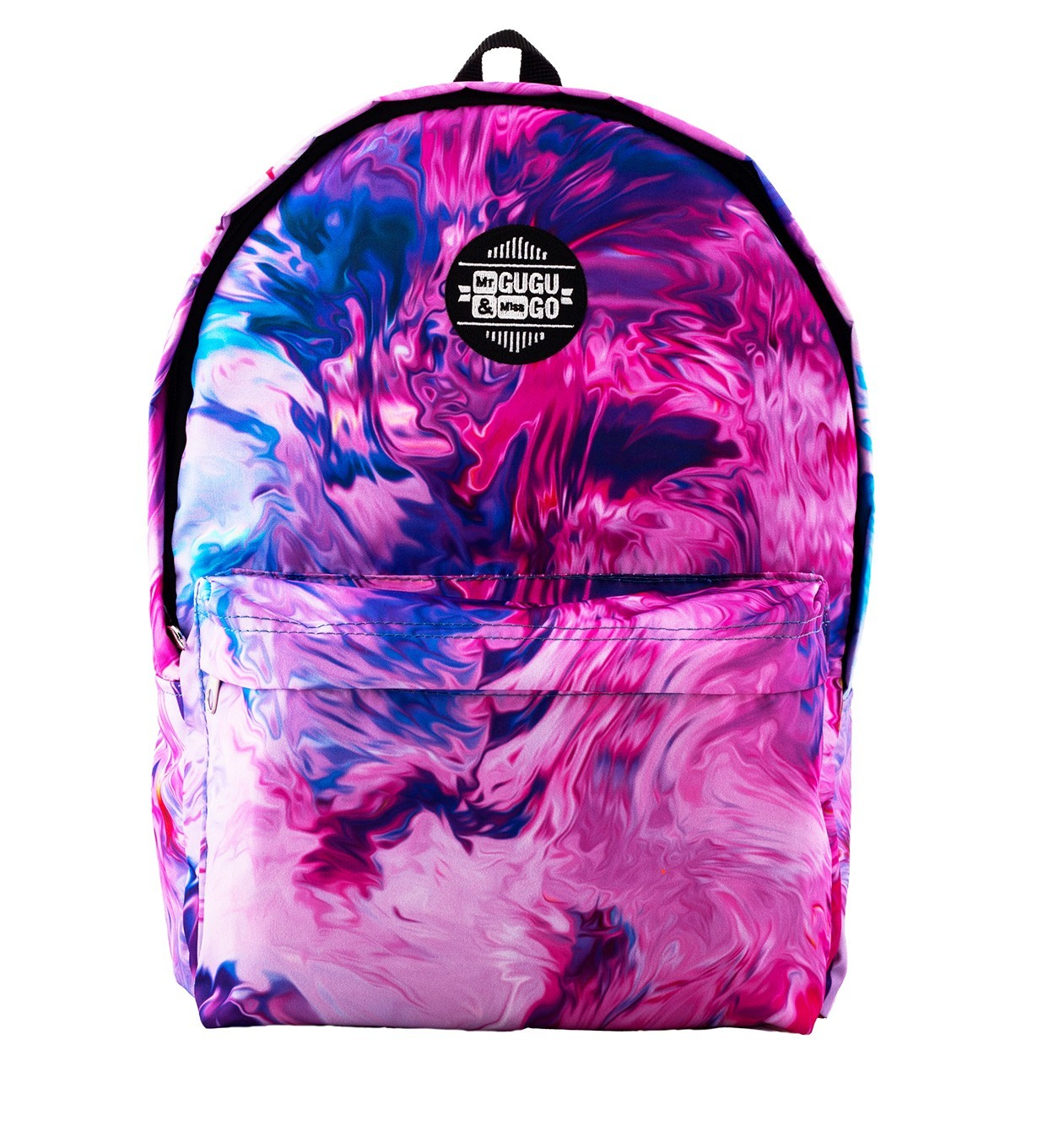 Printed Backpack Modern Painting Design | Mr. Gugu & Miss Go