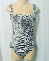 Calvin Klein Women's One Piece  Animal Print Swimsuit  Size Medium 12/14 - $14.00