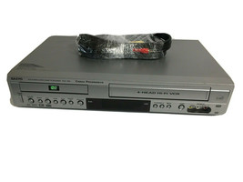Sanyo DVW-7000 Combo DVD VCR with Remote Cables - $74.25