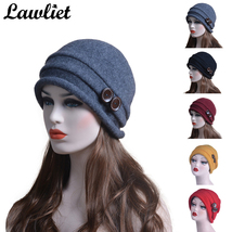 Winter Hat for Women  Beanies 100% Wool Ladies Hat Casual  Beanies Warm ... - $28.99