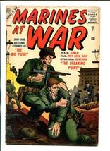 MARINES AT WAR #7-1957-ATLAS-LAST ISSUE-GENE COLAN ART-KOREAN WAR-vg - $47.92