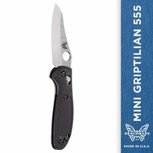 Benchmade - Mini Griptilian 555 Knife with CPM-S30V Steel, Sheepsfoot Bl... - $83.08