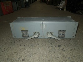 Westinghouse FDPT3212R 30/60A 3P 240V Twin Fusible Panelboard Switch Used - $450.00