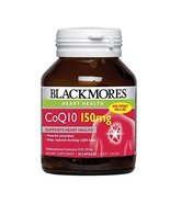 Blackmores CoQ10 150mg High Potency 30 Capsules, Maintaining Healthy Art... - $24.03
