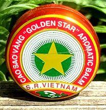 Vietnam Oil Cao Sao Vang 4g - Muscle Ache - Headache - Sinus relief (Pack of 5 ) image 4