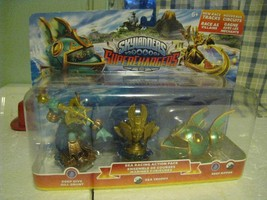 Skylanders Superchargers SEA RACING ACTION PACK Gill Grunt Trophy Reef R... - $13.83