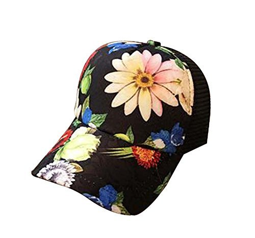 Primary image for Fashion Big Flower Cap Baseball Cap Breathable Net Cap Sun Hat #2