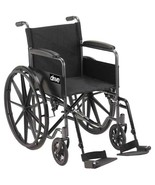 Drive Medical Silver Sport 1 With Full Arms and Footrest - $136.35
