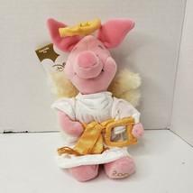 Disney Store Pooh Choir Angel Set Pooh Piglet Eeyore Bean Bag Plush Set ... - $19.33