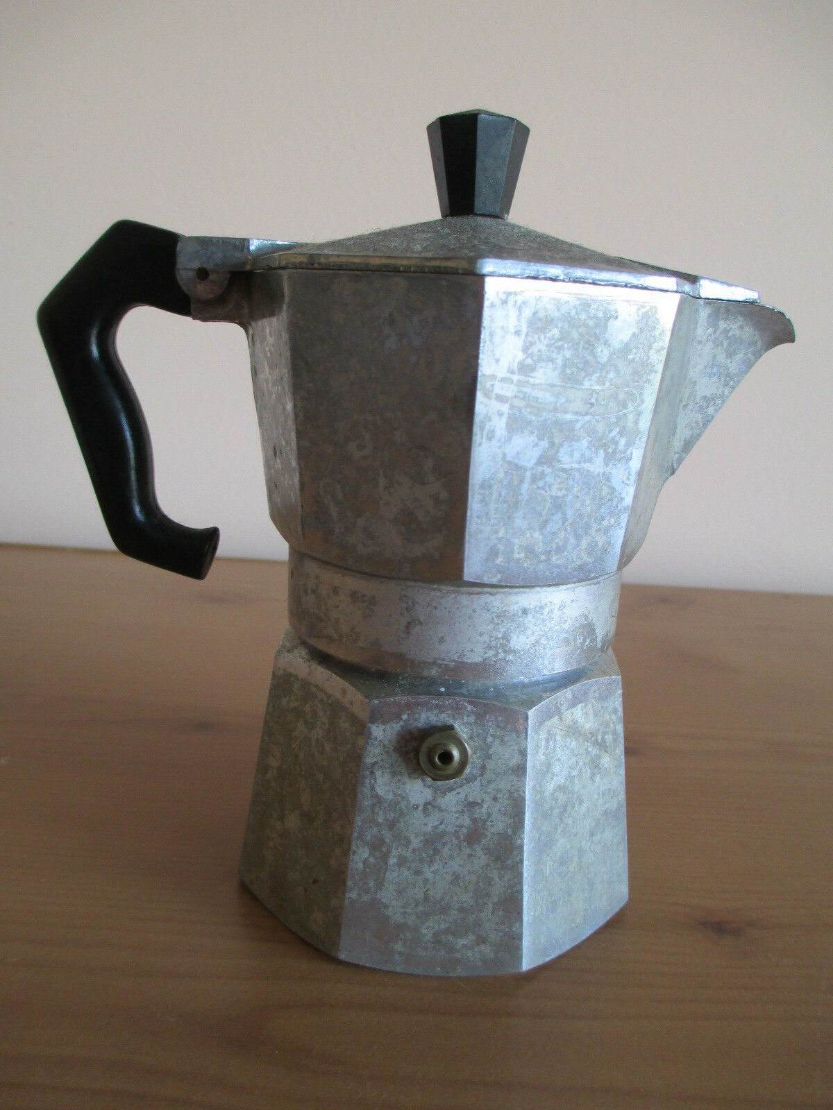 VTG ALUMINUM MORENITA ESPRESSO COFFEE MAKER, MADE IN ITALY image 3