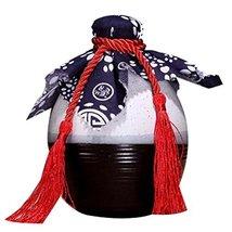 Panda Legends [K] Ceramic Empty Wine Bottle Creative Wine Jar Chinese Style Smal - $24.72