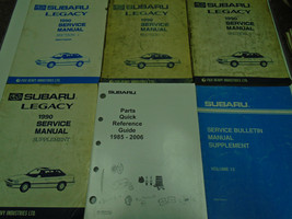 1990 Subaru Legacy Service Repair Shop Manual SET FACTORY FEO Books Inco... - $83.10