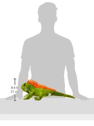 Wild Republic Iguana Plush, Stuffed Animal, Plush Toy, Kids Gifts, Cuddlekins, 1