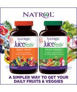 Natrol JuiceFestiv Daily Fruit & Veggie 120 Capsules (2 Bottles) - $41.09