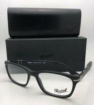Neuf Persol Rx-Able Lunettes 3012-v 900 54-18 145 Mate Sable Noir Cadres - $219.52