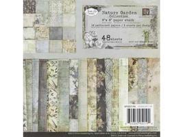 "Prima Marketing-48 Sheets 6""x6"" Paper Stack-Nature Garden- #950194"