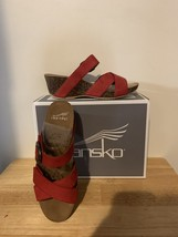 Dansko Susie Milled Nubuck Red  - $40.00