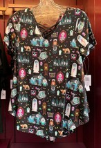 Disney Parks Haunted Mansion 999 Happy Haunts Woman's Top Size X-Large New - $53.89