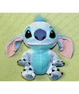 "Disney Lilo and STITCH Plush Stuffed 8"" Bean Bag Plush Blue Alien Baby A... - $22.77"