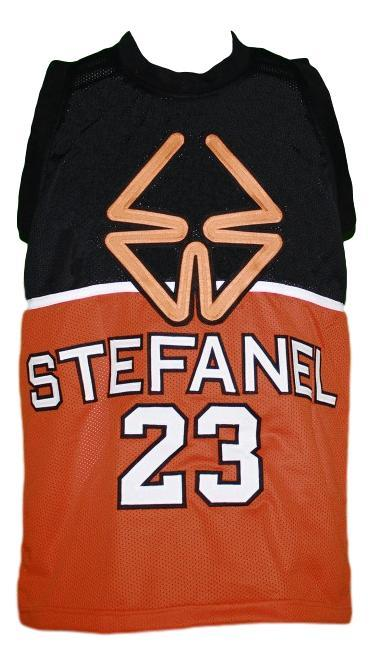 Michael jordan  23 stefanel custom basketball jersey   1