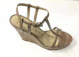 Jessica Simpson New Shoes Size 10 Brown Cork Open Toe  Jardina High Wedg... - $39.10