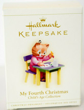 Hallmark: My Fourth Christmas - Kitten - Child's Age - Collection Ornament - $16.13