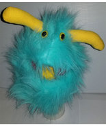 "B5 * Professional Teal ""Furgremlin"" w/Horns Muppet Style Ventriloquist P... - $15.00"
