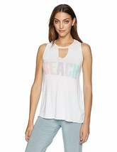 PJ Salvace Beach White Sleep Lounge Pajama Tank XL NEW - $15.88