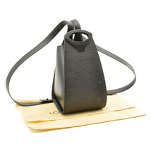 LOUIS VUITTON Epi Minuit Black Shoulder Bag M52392 LV Auth 8581 - $540.00