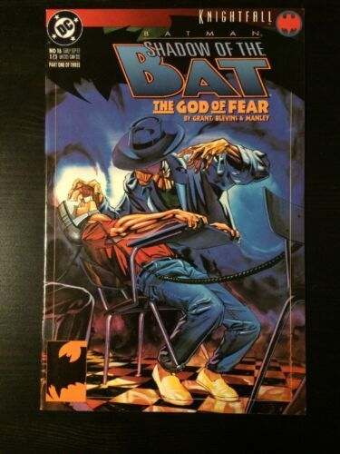 Primary image for DC COMICS Batman Shadow of the Bat #16 Knightfall Tie-in NM 9.2+