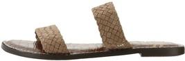 Sam Edelman Braided Double Strap Slide Sandals Gala 2 Oatmeal 7.5M NEW A365920 - $45.52