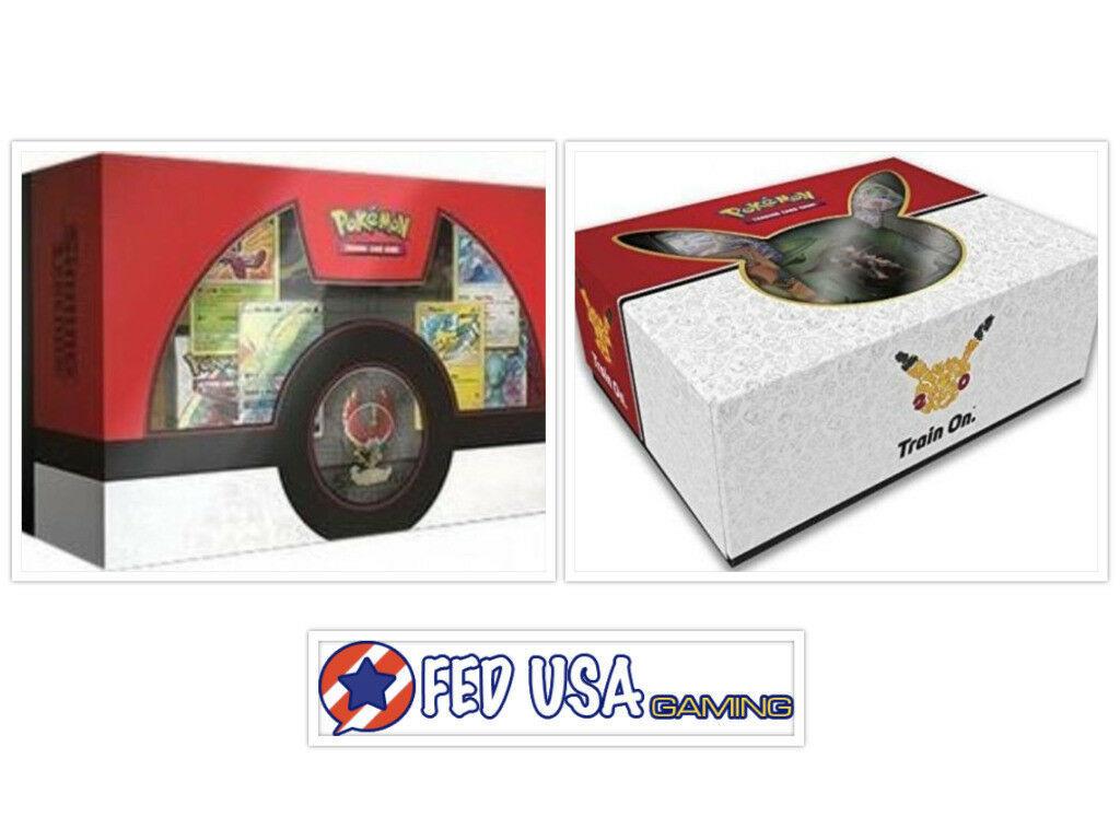 Pokemon Shining Legends Ho-Oh + Mew Mewtwo Super Premium Collection Boxes Bundle