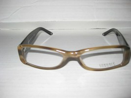 New VERSACE Eyeglasses Frames 3109B COL 773 BROWN for Women 100% Authentic - $69.95