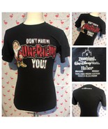 Disney Mens S Grumpy Dont Make Me Unfriend You Black Shirt A2847 - $9.80