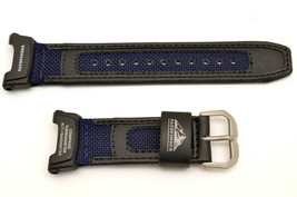 Genuine CASIO Blue/Black Watch Band Pathfinder ProTrek PAG-240B-2 PAG-40... - $34.95