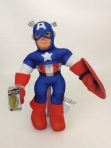 "Superhero Squad 14"" Captain America Toy New Sealed Code Plush Marvel Online 2013 - $17.77"