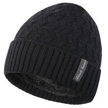 Novawo Winter Fleece Lined Beanie Hat Thick Skull Cap - $11.26