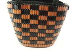 Wood Bead Purse Bucket Type image 8