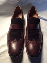 Kenneth Cole Brown Leather Oxfords Shoes Size 10 - $34.64