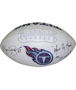Kevin Dyson signed Tennessee Titans Logo Football Music City Miracle & 1... - $88.95