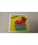Sorry I missed your birthday greeting card, Pink ice cream sundae greeti... - $3.00