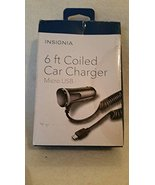 Insignia - Micro USB Vehicle Charger - $12.99