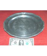"Vintage RWP Wilton Columbia PA 12"" Round Pewter Dinner Serving Plate Dis... - $54.43"