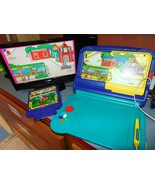 Sega Pico Game Console with 2 games Magic Crayons and Richard Scarry Wor... - $125.77