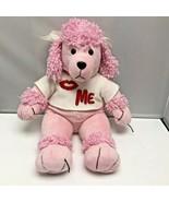 Pawsenclaws & Company Pink Poodle Kiss Me Puppy Dog Plush Stuffed Animal - $39.99